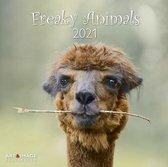 Freaky Animals Kalender 2021 - 30x30 cm