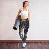 Snake sportlegging - Snakelegging - Fitness training legging - Sport legging - Stretch legging - Squat proof legging - Run legging - Yoga legging - Jump legging - Gym legging - Gift legging - Sport lifestyle legging - Spandex legging - M
