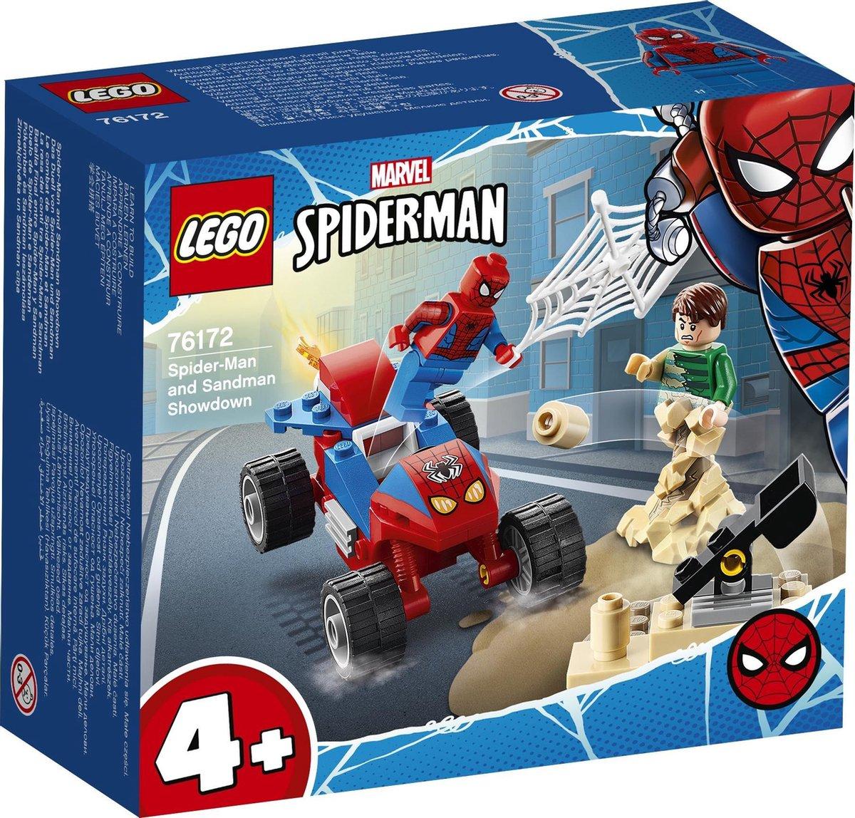 LEGO 4+ Spider-Man en Sandman Duel - 76172