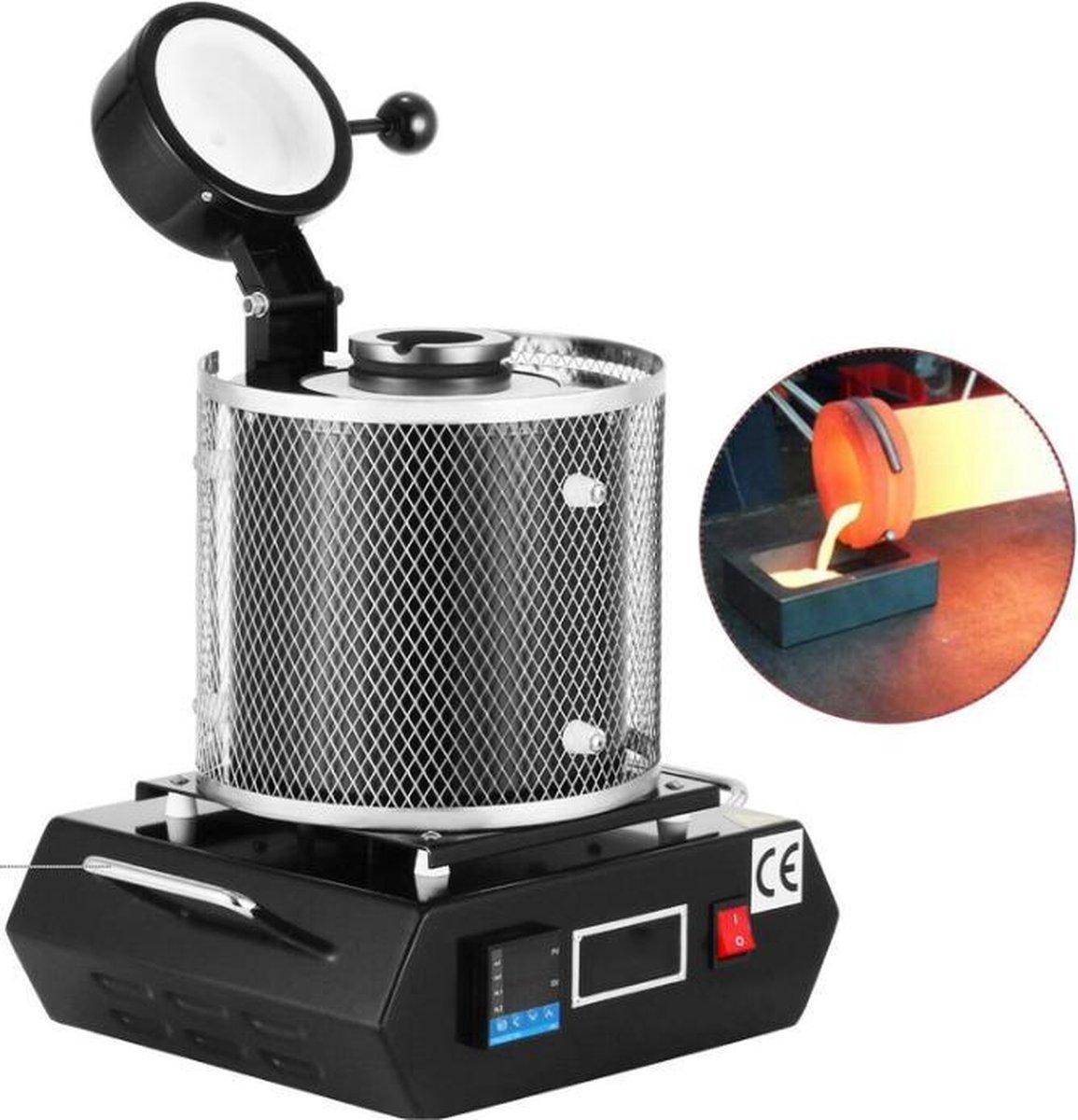 Dexters® Elektrische Smeltoven | Oven Metalen | voor Goud en Zilver | Sieraden Maken | 3 Kg | 2700W kopen