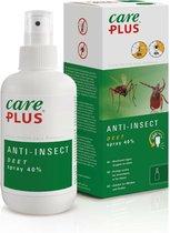 Care Plus Anti-Insect Deet 40% Spray - 60ml- beschermt tegen muggen en teken-