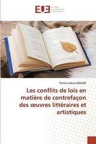 Les conflits de lois en matiere de contrefacon des oeuvres litteraires et artistiques
