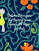 Outsmart everyone by training your brain with maze for kids