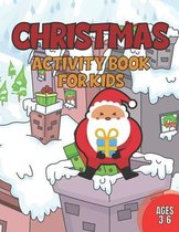 Christmas Activity Book for Kids 3-6