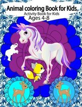 Animal coloring books for kids activity books for kids
