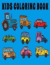 Kids Coloring Book: Fun Activity Pages Featuring