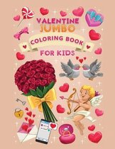 jumbo valentine coloring book for kids