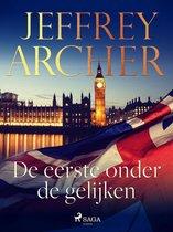Boek cover De eerste onder de gelijken van Jeffrey Archer (Onbekend)