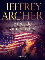 Boek cover Erecode van een dief van Jeffrey Archer (Onbekend)
