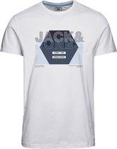 JACK&JONES CORE JCOCLUSTER TEE SS FST Heren T-shirt - Maat M