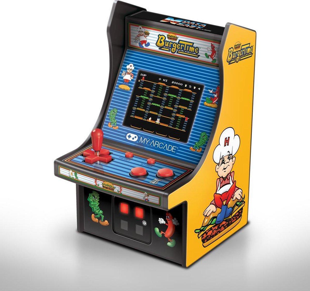 My Arcade Retro Mini Arcade Machine Burger Time