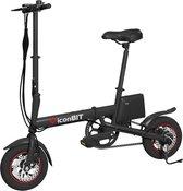 IconBIT E-Bike K7 - Elektrische Vouwfiets - Zwart - 12 Inch Alu-Wielen