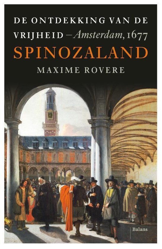 Boek cover Spinozaland van Maxime Rovere (Paperback)