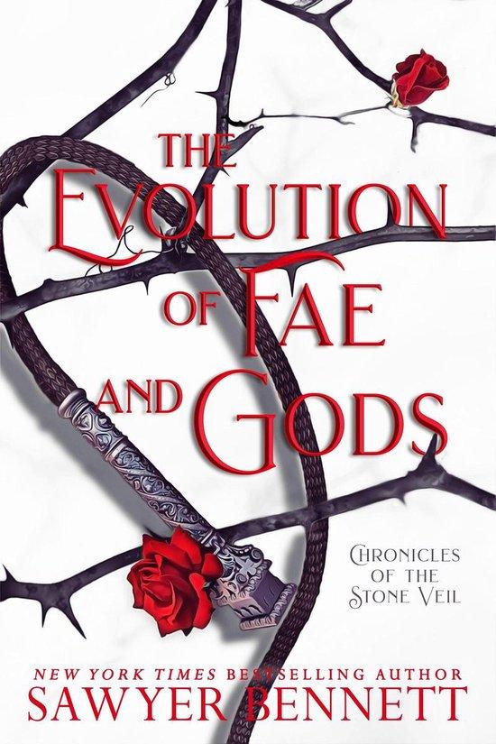 Boek cover The Evolution of Fae and Gods van Sawyer Bennett (Onbekend)