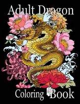 Adult Dragon Coloring Book