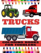 Trucks Coloring Books For Toddlers