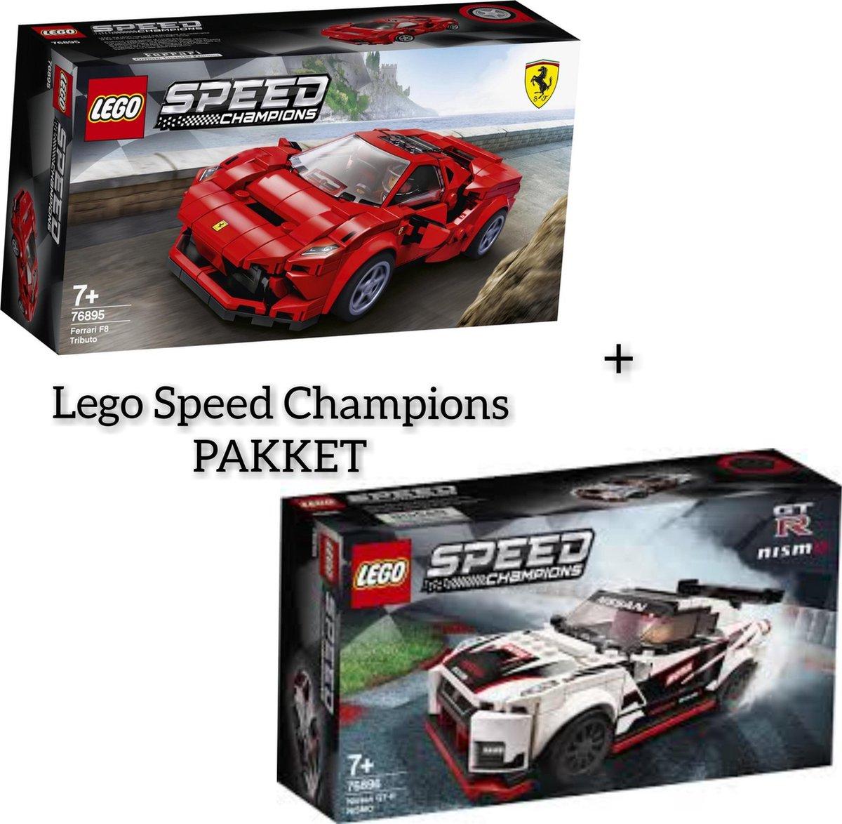 Lego pakket Lego Speed Champions / Lego 76896 + Lego 76895