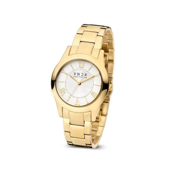 Dames horloge | Wonder Women Party Gold Black