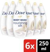 Dove Silk Glow Douchecrème - 6 x 250 ml - Voordeelverpakking