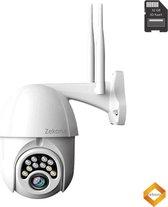 Zekona® 20Y - IP Camera Beveiliging voor Buiten - Bewakingscamera - Wifi + 32 GB SD Kaart Full HD