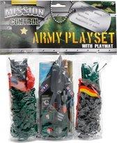 Mission Control Speelset Leger Met Voertuigen Groen/grijs