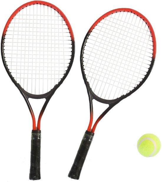 Afbeelding van het spel SportX Tennis Set 4-delig Assorti