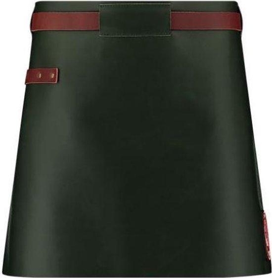 Witloft Sloof 62 X 40 Cm Leer Groen/cognac