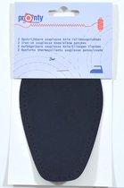 Pronty - 2 opstrijkbare souplesse suede look elleboogstukken zwart - pads voor elleboog opstrijkbaar en machinewasbaar