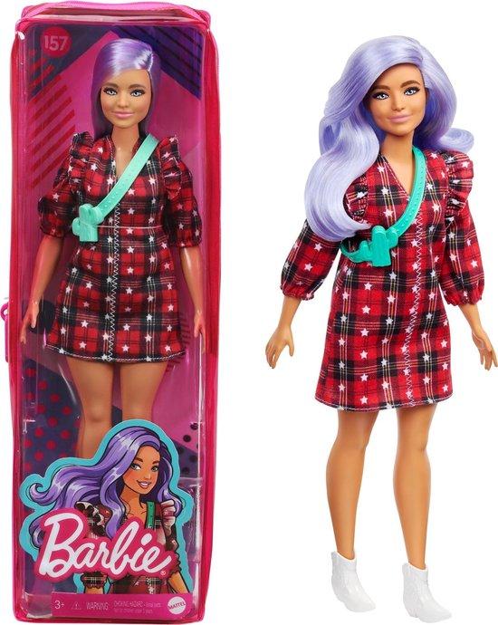 Barbie Fashionista pop - Plaid Jurkje
