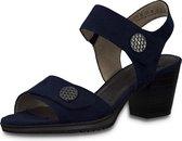 Jana Dames sandalette 28308-805  Blauw - Wijdte H - Maat 37