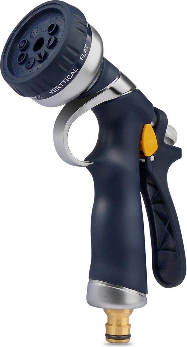 Voxon sproeikop | broespistool | spuitpistool voor tuinslang | metalen constrcutie met soft-grip han