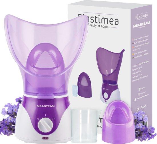 MEASTEAM® Gezichtssauna - zwarte punten - acne - inhalator