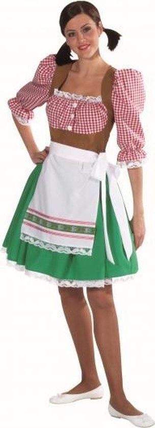 Oktoberfest Tiroler jurkje voor dames 38 (m)