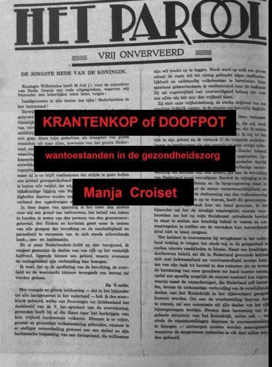 Krantenkop of Doofpot - Manja Croiset |