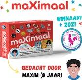 Maximaal Maaltafels (keersommen) gezelschapsspel | De maaltafels worden kinderspel | vanaf 6 jaar