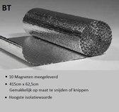 ✅ Radiatorfolie inclusief 10 magneten van BT. Isolatie mat 415 cm x 62,5 cm 2,6 M2. Isolatiemat voor radiatoren. Energiebesparend en behagelijker wonen met de isolatiemat voor radiatoren van BT