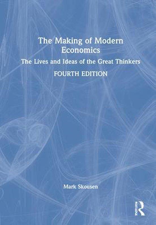 Boek cover The Making of Modern Economics van Mark Skousen (Hardcover)
