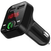 Bluetooth FM Transmitter - Bluetooth ontvanger voor in de auto - USB - Handsfree carkit