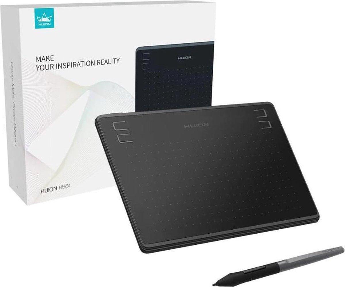 BrightWise® Tekentablet Grafisch Tekenen Lichtgewicht Mobiel en PC - Drawing Tablet - Tekentablet kinderen en volwassenen - Grafische tablet - Digitale Handtekening - Zwart