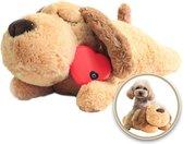Knuffel met Hartslag Speciaal voor Puppy's - Snuggle Heart Beat Puppy - Hartslagknuffel - Pluche