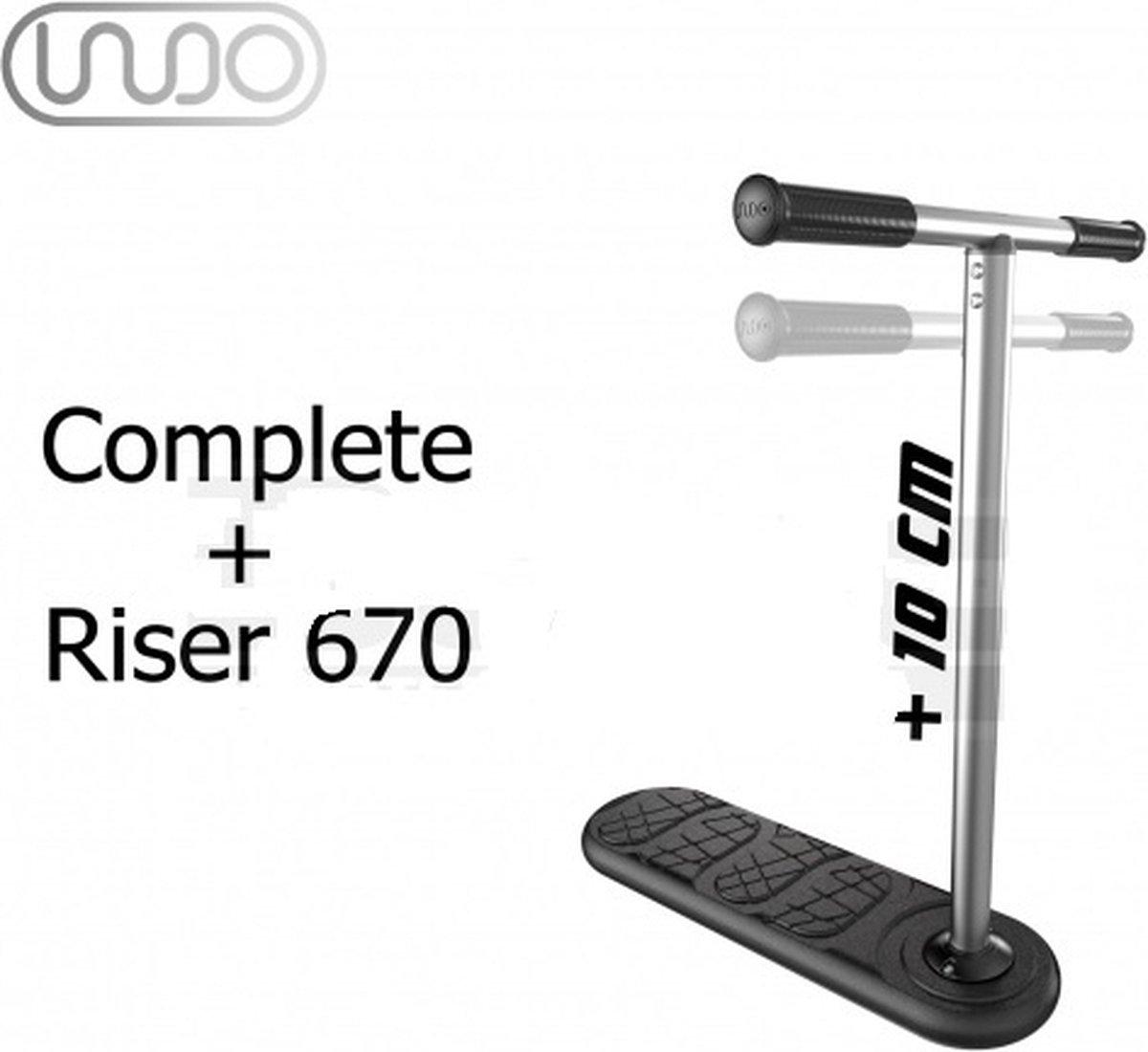 Indo X70 - trampoline step - 570mm + Riser 670mm Trampoline Stuntstep