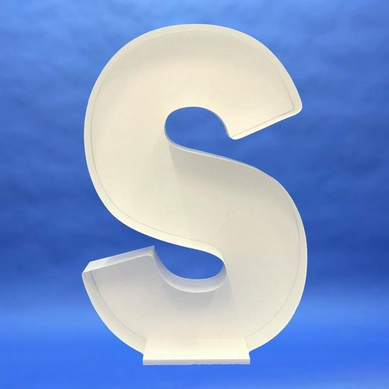 Ballon Mozaiek frame Letter S (100 cm)
