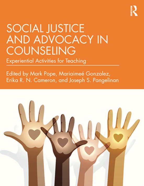 Boek cover Social Justice and Advocacy in Counseling van  (Onbekend)