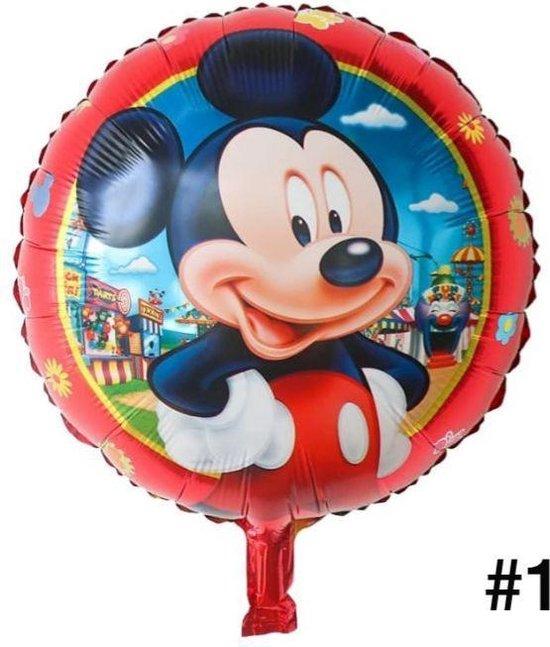Disney Mickey of Minnie  Mouse Folieballon dubbelzijdig-Verjaardag-Feest-Folieballon(1)