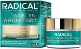 Farmona RADICAL AGE ARCHITECT 55+ Voedende, regenererende nachtcrème met de super detox formule, 50ml
