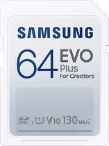 Samsung EVO plus SDXC - Geheugenkaart - 64 GB