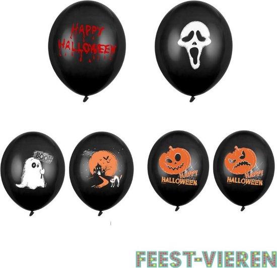 Halloween ballonnen set 24 stuks