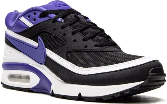 Nike Air Max BW OG | Limited edition 2021 | Black/Persian - Violet/White | Maat 42.5 | Men size 9 | Woman size 10.5 | UK size 8 | CM 27.5
