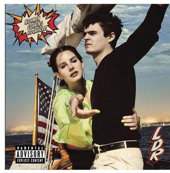 CD cover van Norman Fucking Rockwell (CD) van Lana Del Rey