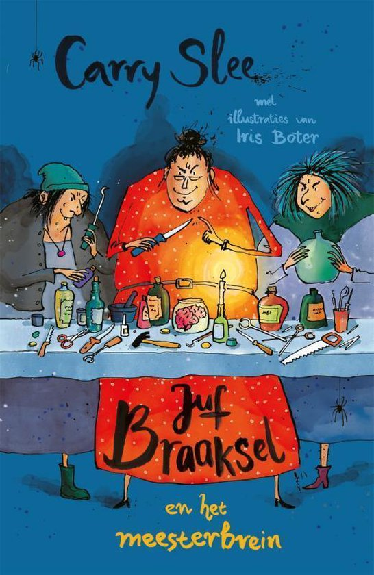 Boek cover Juf Braaksel en het meesterbrein van Carry Slee (Hardcover)
